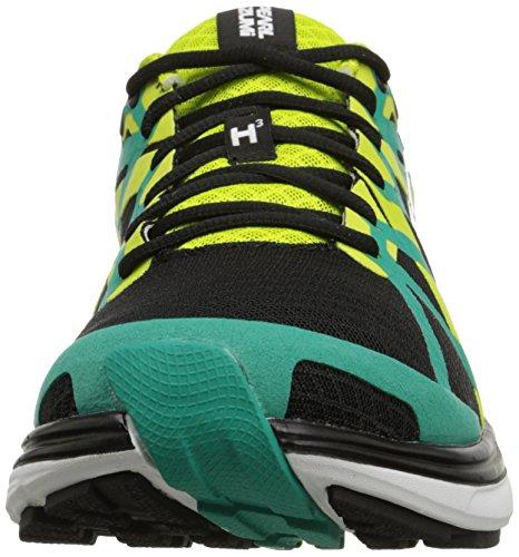 Zapatillas De Running Pearl Izumi Para Hombre Em Road H3 V2 Negras / Verde Dinastía