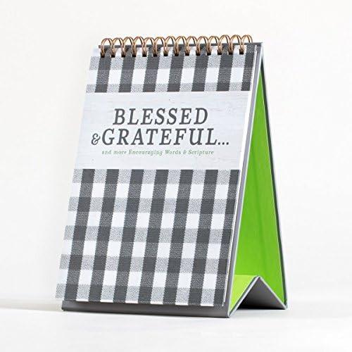 DaySpring Blessed & Grateful - インスピレーショナル デスクトップアート