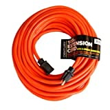 Century Contractor Grade 100 Feet 10 Gauge Power Extension Cord 10/3 Plug