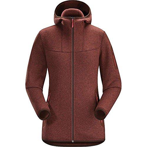 ARCTERYX Covert Hoody - women's Jackets MD Cherry Chocolate by Arc'teryx