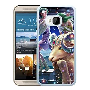 Beautiful And Unique Designed With Zodiac Sign Aries Stars (2) For HTC ONE M9 Phone Case