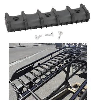 Bowdriks Industries 4055 RAMP-BAR 5-KIT Ramp Crossbar Protector with Traction - 5 Pack (1)