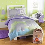 Animal World - Zoomates E is for Elephant 5 Piece Twin Bedding Comforter Set