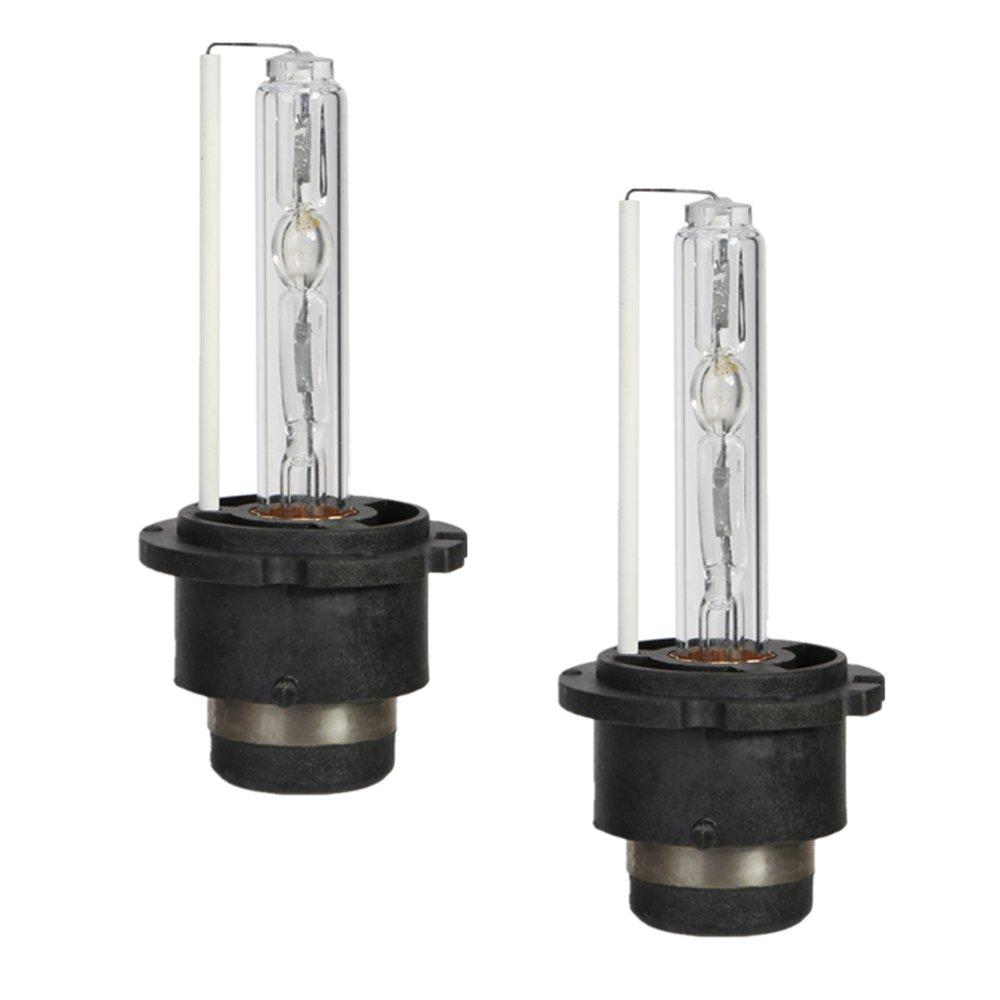 CICMOD Ampoules D2S, 1 Paire D2S 35W 8000K Xé non HID Ampoules Lampes de Remplacement 1 Paire D2S 35W 8000K Xénon HID Ampoules Lampes de Remplacement OSAN