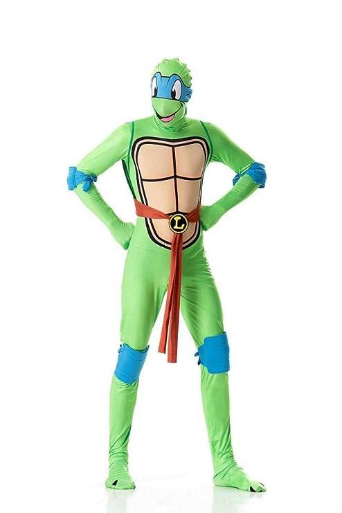 ZSDFGH Disfraz Tortuga Ninja Adulto/Disfraz Mujer Ninja/caparazon ...