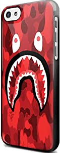 Bape Shark Camo Army Texsture for Iphone and Samsung Galaxy Case (iPhone 5/5s black)