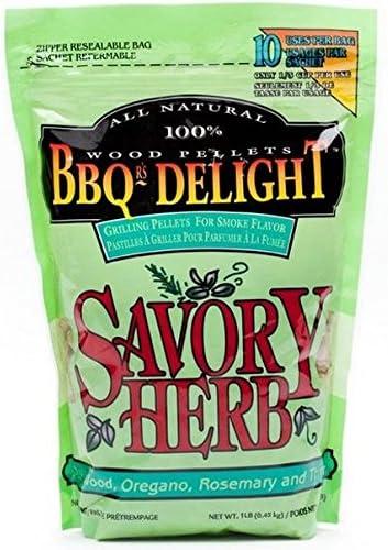 Pick 2 Flavors BBQrs Delight Wood Smoking Pellets Orange, Black Walnut