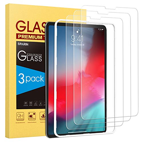 Tempered Glass Screen Protector 2-Pack 2018 Release -iPad Pro 12.9 inch