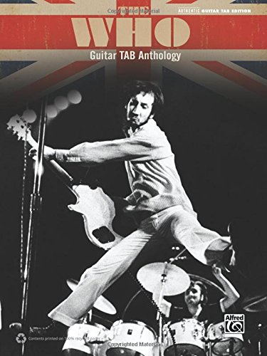 The Who -- Guitar TAB Anthology