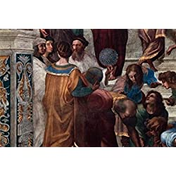 The School of Athens (Detail) c 150911 Fresco Raphael (1483-1520Italian) Vatican Museums and Galleries Rome Poster Print (24 x 36)