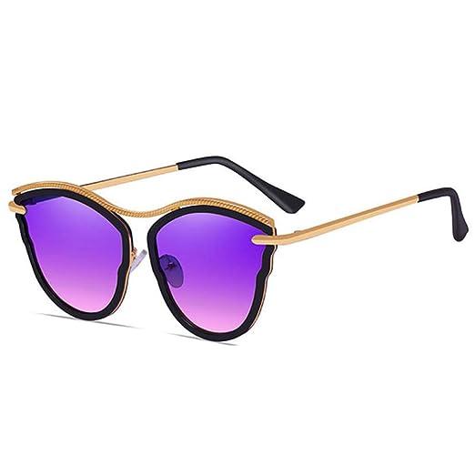 Yangjing-hl Gafas de Sol polarizadas Classic Metal Men 400 ...