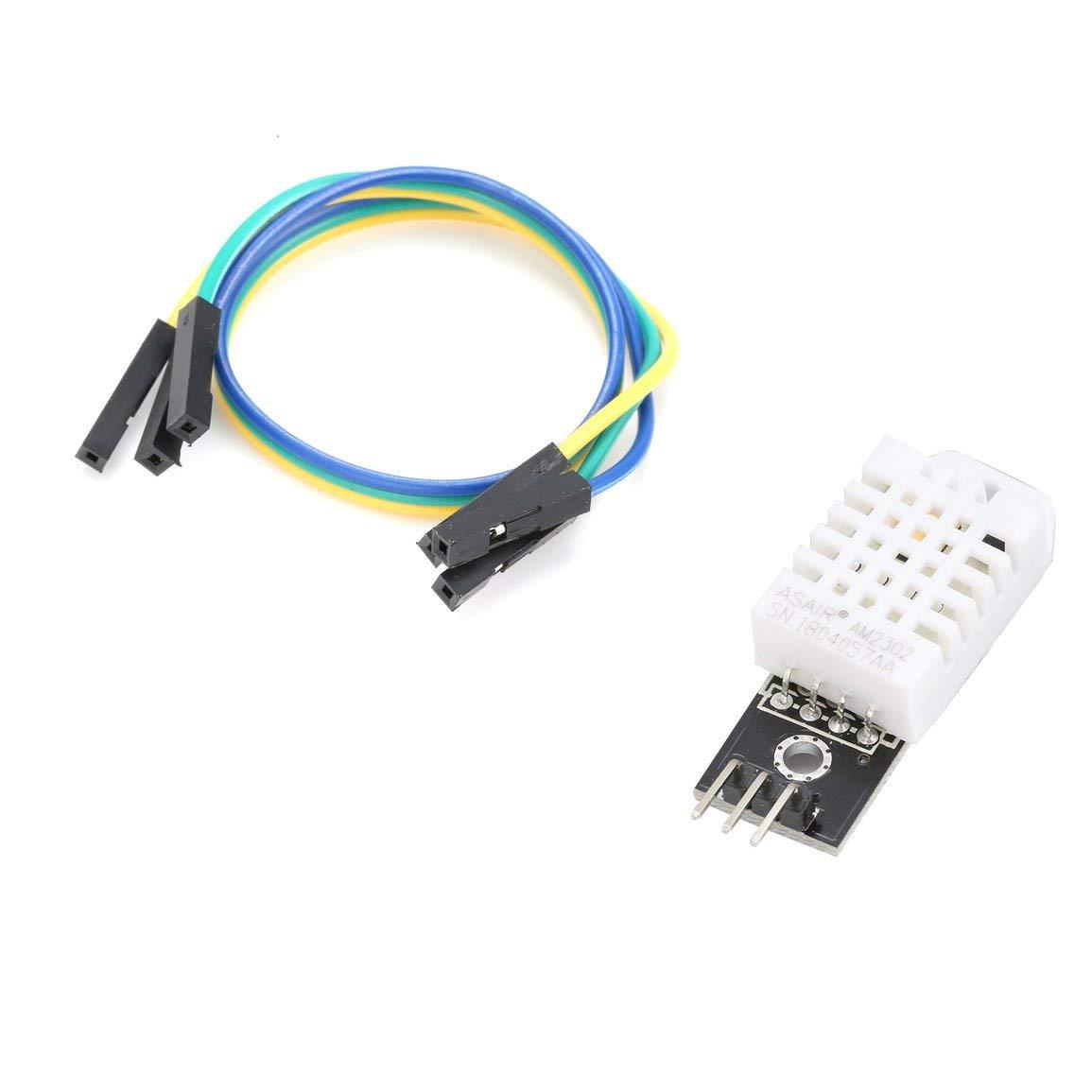 DHT22 AM2302 digitale di umidit/à di temperatura modulo del sensore per Arduino con DuPont cavi della scheda per Arduino elettronico strumento fai da te