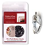 Add-On Hooks for GalleryOne Art Hanging System - Package of 10
