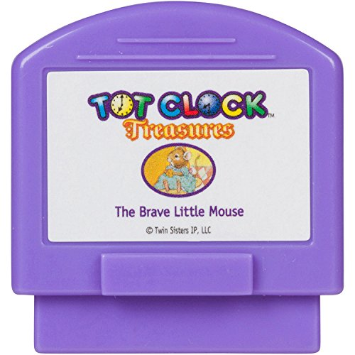 Tot Clock Treasures: The Brave Little Mouse + Me and My Puppy (compatible with New & Improved Tot Clock only)