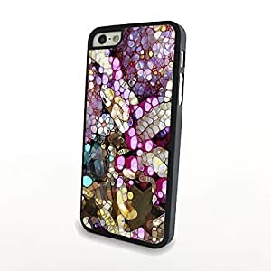 Generic Flowery Cute Colorful Flowers Matte Pattern PC Phone Cases fit for Charming Beautiful iPhone 5/5S Cases