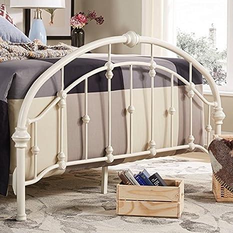 Amazon.com: Cabecera y pies de cama metálicos estilo ...