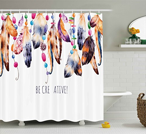 Ambesonne Collection Creative Watercolor Polyester