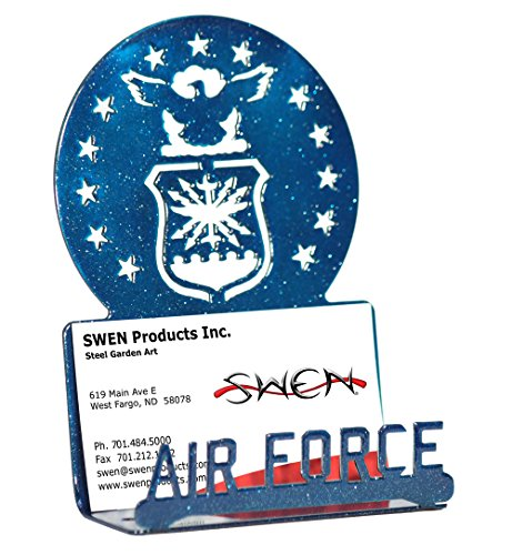 SWEN Products ARMED SERVICES US AIR FORCE ACADEMY Blue Business Card Holder
