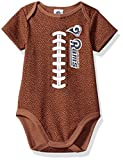 rams football - NFL Los Angeles Rams Boys Football Bodysuit, 3-6 Months, Brown