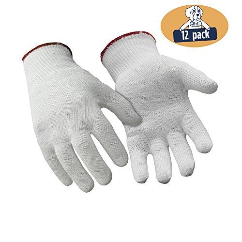 - RefrigiWear Thermax Moisture Wicking Glove Liners (White, Medium) - PACK OF 12 PAIRS