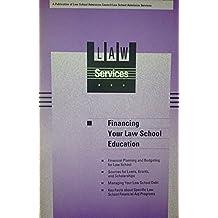 Financing your law school education