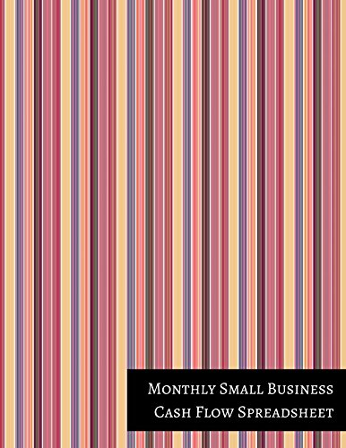 amazon com monthly small business cash flow spreadsheet