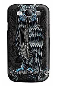 Cool Gothic Owl Design Case for Samsung Galaxy I9300 S3