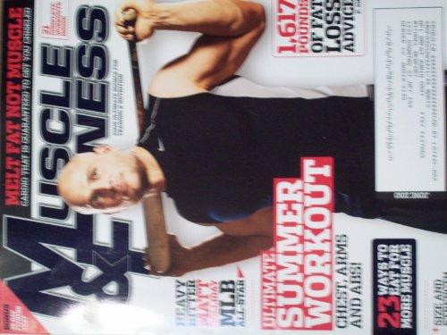 (Muscle & Fitness June 2010 Melt Fat Not Muscle Ultimate Summer Workout Matt Holliday)