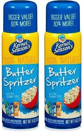 Kernel Season's Movie Theater Butter Popcorn Spritzer Spray 4 Oz (Best Popcorn Butter Spray)