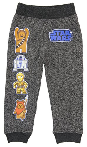 Star Wars Toddler Boys' Pajama Pants with Characters and Logo (2T)