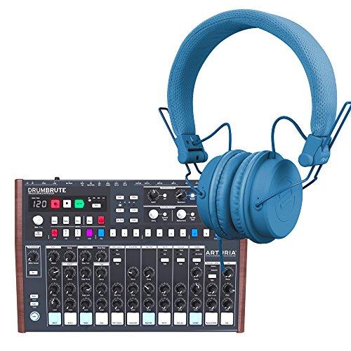Arturia Drumbrute Analog Drum Machine with Reloop RHP-6 Headphones