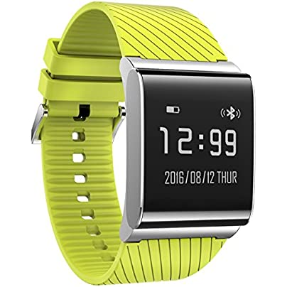 Bluelover Plus Smart Bluetooth Watch Heart Rate Sensor Monitor Bracelet Wristband Ip67 Waterproof Pedometer Green Estimated Price £53.40 -