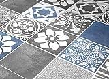 shower tile design ideas Tiles Stickers Decals - Packs with 56 Tiles (3.9 x 3.9 inches, Tiles for Kitchen Backsplash Decor Vogue Blue)