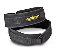 "Gabor Fitness 4-Inch Epic Performance Low Profile Weightlifting Belt … (Large -- 37""-43"")"