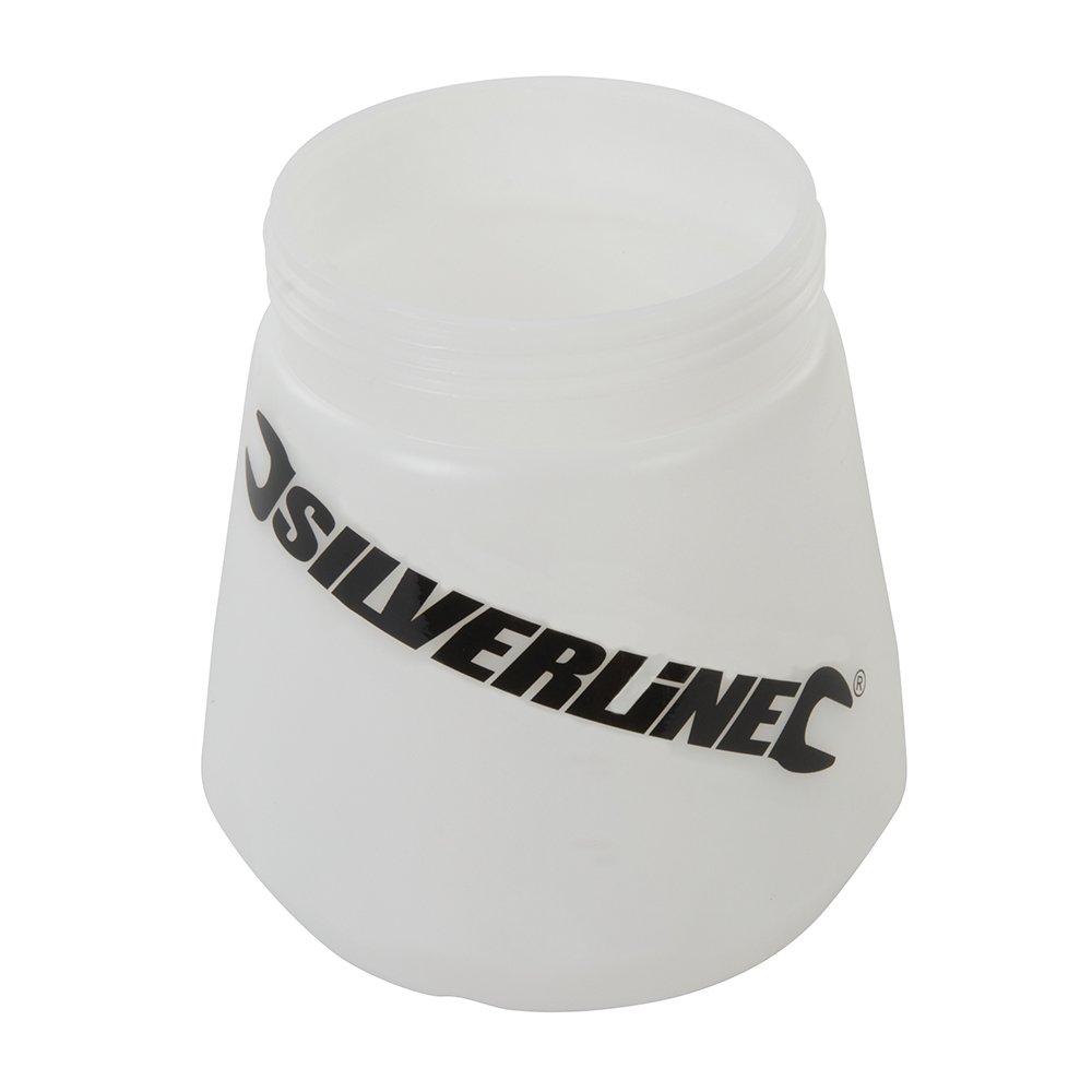 Recipiente transparente HVLP 700 ml Recipiente transparente 700 ml Silverline 269389