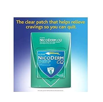 Amazon com: Clear Nicoderm CQ 21 mg Nicotine Patch Smoking