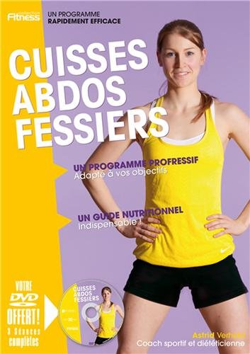 Cuisses Abdos Fessiers Broché – 1 février 2014 Astrid Verhelst Manokan Editions 2369050012 Fitness/stretching