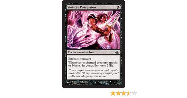 6x Sinister Possession new MTG Dragon/'s Maze