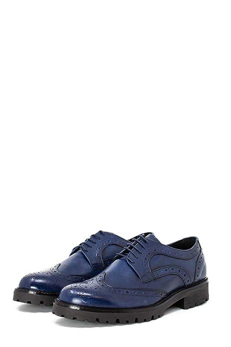 7 Marchigiana Inglesina Scarpe Ing Uomo Blu Bottega 45 Eleganti yvmn80ONw