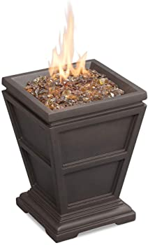 Endless Summer LP Gas Outdoor Brown Firepit