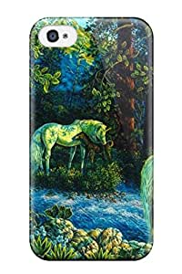Florence D. Brown's Shop Best unicorn horse magical animal n Anime Pop Culture Hard Plastic iPhone 4/4s cases 5988477K590421041