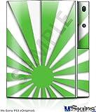 Sony PS3 Skin - Rising Sun Japanese Green