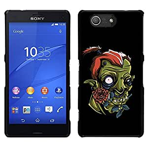 LECELL--Funda protectora / Cubierta / Piel For Sony Xperia Z3 Compact -- Cute Funny Orco --