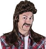 Kangaroo's Halloween Accessories - Redneck Wig, Brown