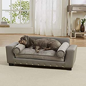 Enchanted Home Pet Grey Scout Pet Sofa 2