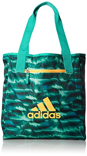 Price comparison product image adidas Studio II Tote Bag, One Size, Cosmic Shock Mint/Shock Mint/Solar Gold