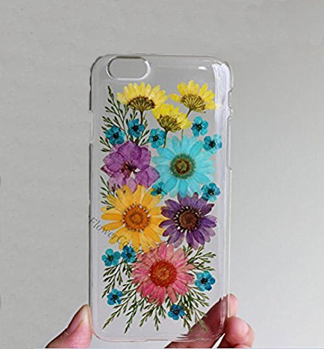 finest selection 3d3c6 1a706 Rebbygena Personalized Real Flower Pressed Flower iPhone 5s Case and Covers  Dried Flower Case for iPhone 5s