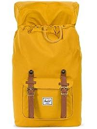 Herschel Little America Mid-Volume Backpack Arrowwood Tan Synthetic Leather  One Size e716035679c85