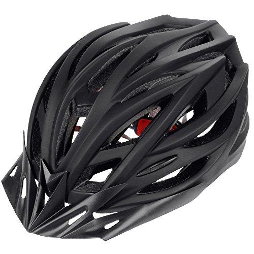 Zacro-Cycle-Helmet-Adjustable-Thrasher-Adult-Bike-Helmet-with-Detachable-LinerBlack