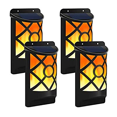 TEALP Solar Flame Lights Outdoor